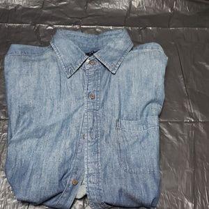 Long sleeve Jean shirt XL